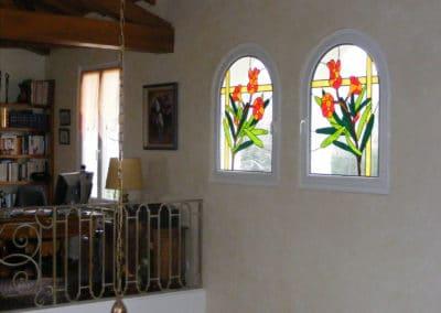 Rénovation vitraux Drôme