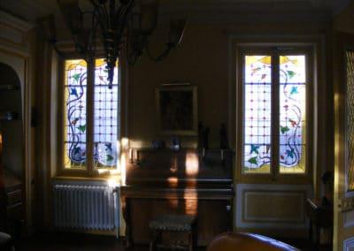 Rénovation vitraux Bollène