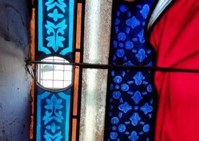 Restauration vitrail Drôme