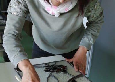 Creation vitrail Drôme
