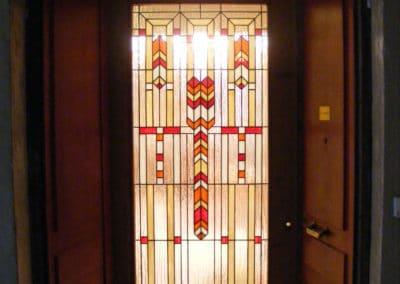 Création vitrail Villeneuve-lès-Avignon